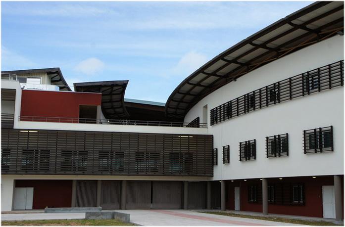 Saint-Laurent-du-Maroni,Guyane, France, centre hospitalier